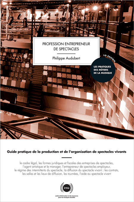 Profession Entrepreneur de spectacles 2012